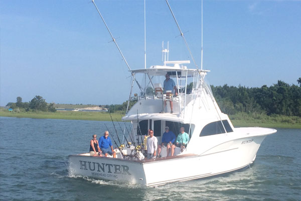 Gallery hunter sportfishing deep sea fishing for Deep sea fishing nc